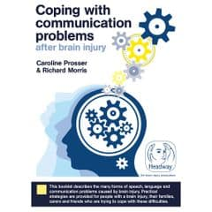 Coping with communication problems after brain injury