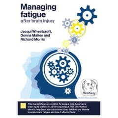 Managing fatigue after brain injury
