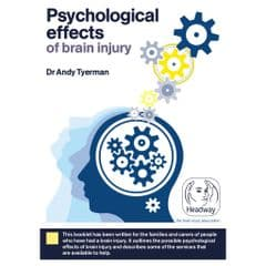 Psychological effects of brain injury