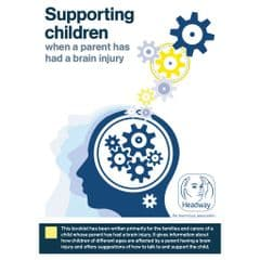 Supporting children when a parent has had a brain injury