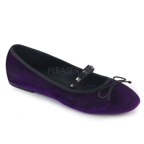 Demonia DRAC-07 Purple Velvet