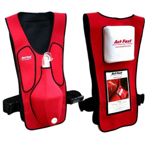 Act+Fast Choking Vest Trainer