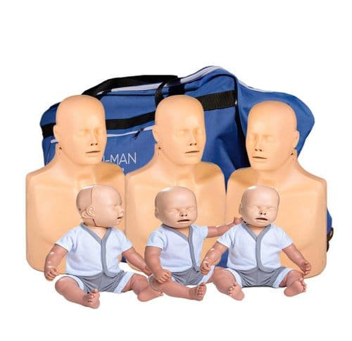 Advanced Practi-Man Manikin Family Pack