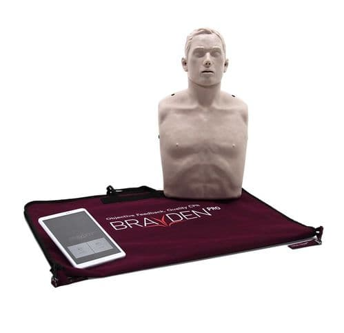 Braydon Pro Manikin (Red) With Tablet