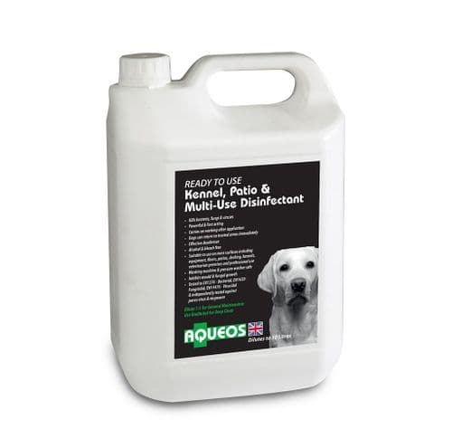 Canine Ready to Use Canine Disinfectant & Deodoriser 5 Ltr