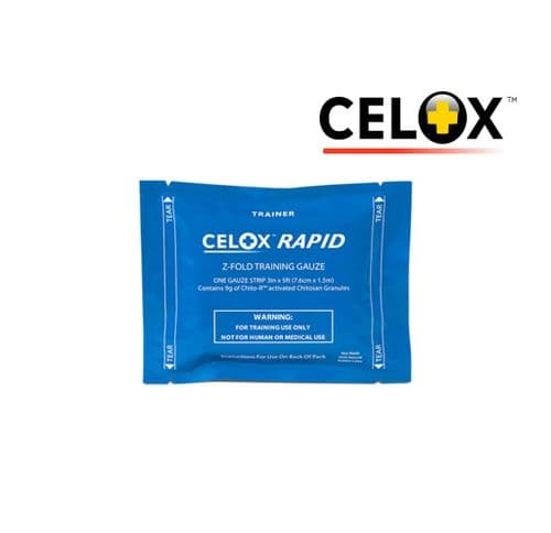 Celox Rapid  Training Gauze - Blue Pack