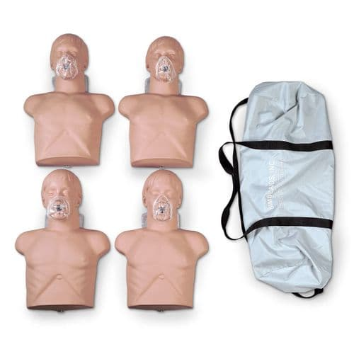 Economy Adult CPR Sani Manikin – pack of 4