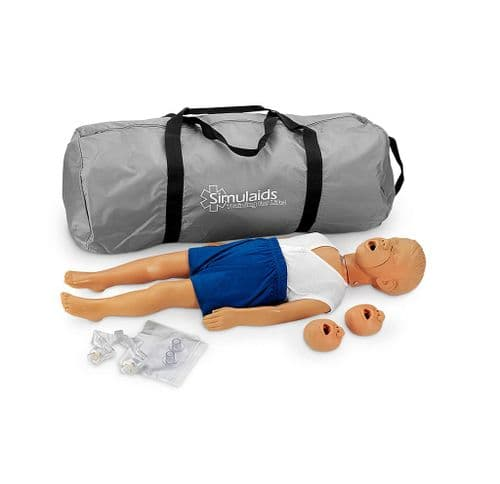 Kyle 3 Year Old Child Manikin with Bag