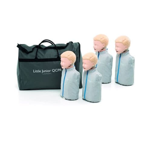 Laerdal Little Junior QCPR 4-pk