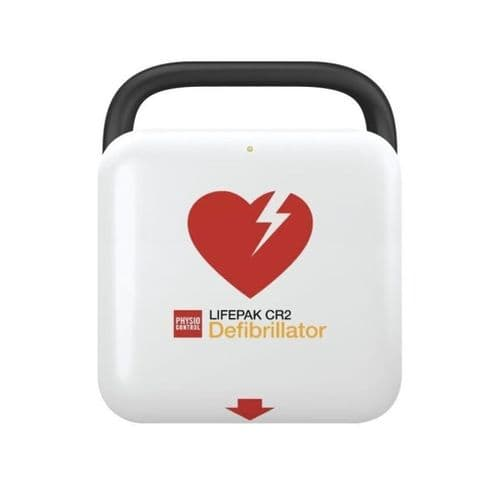 LifePak CR2 Semi-Automatic Defibrillator with WIFI and Carry Case