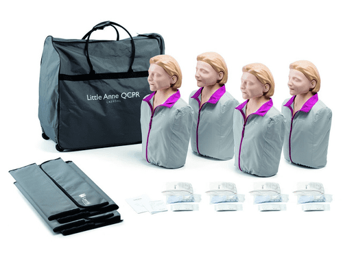 Little Anne QCPR Manikins 4 Pack