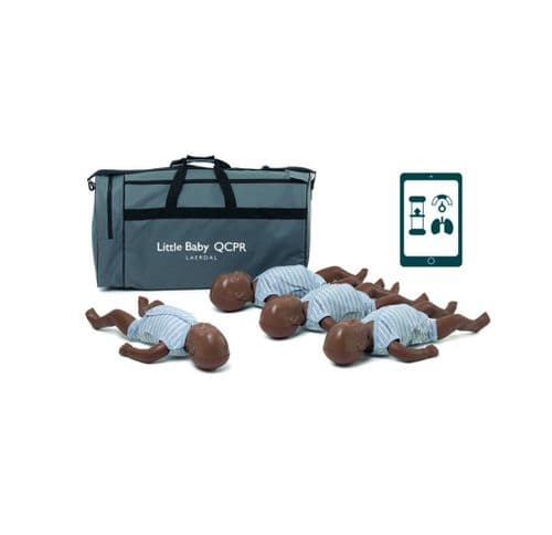 Little Baby QCPR - 4 pack Dark Skin