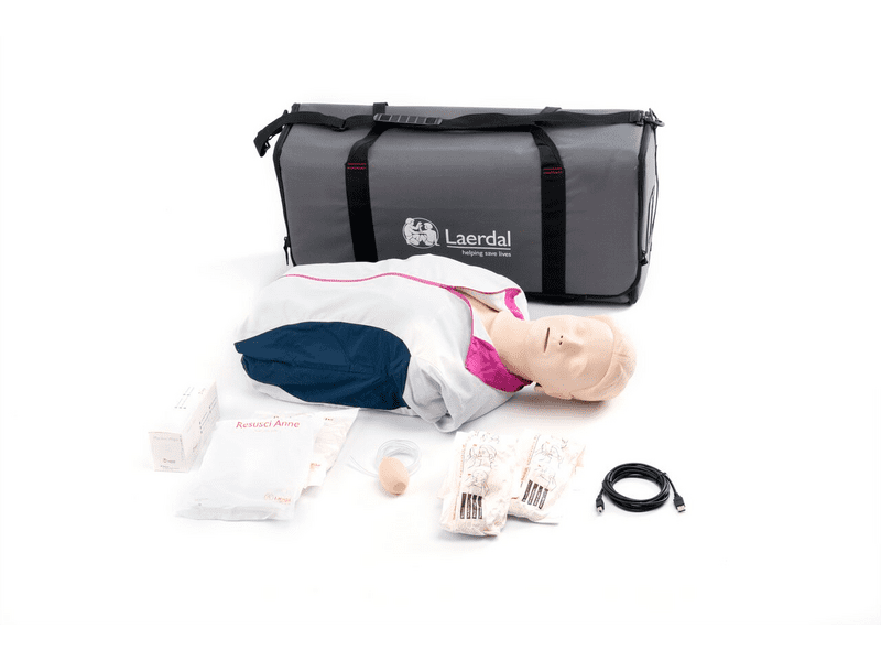 Resusci Anne QCPR Torso with Carry Bag