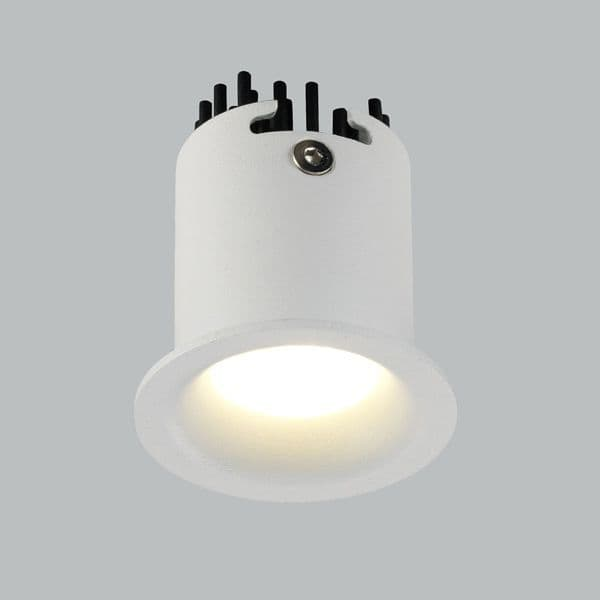 42mm 5w Round fixed mini Downlight - IP44 rated - natural white LED