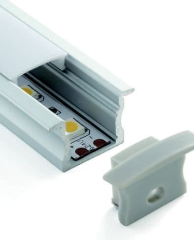 Deep Recessed Aluminium Profile Channel For LED Strip (2m)