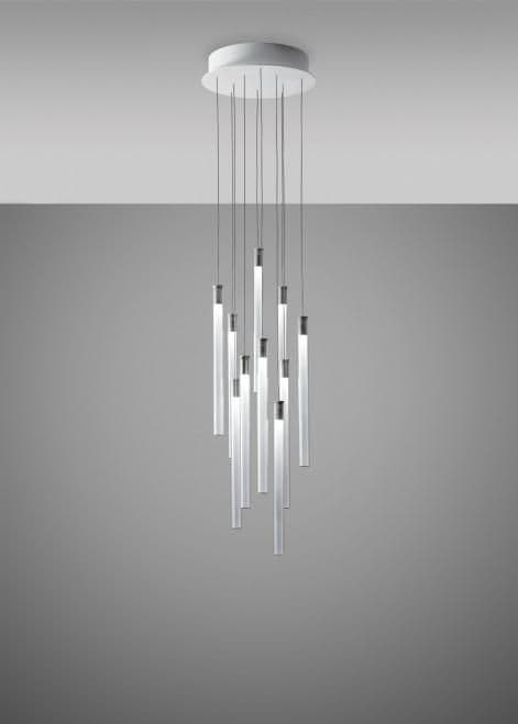 Fabbian Tooby 10 light LED Chandelier
