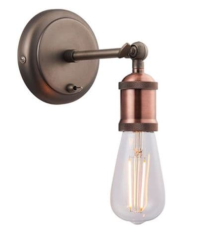 Retro and Industrial Styled Wall Light