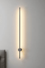 Slim and Vertical Wall Light