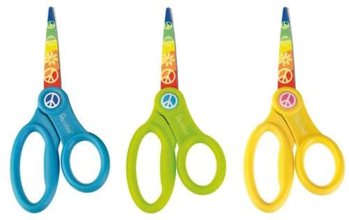 "Westcott 13cm 5"" Children's School Scissors with Microban Hygiene Protection"
