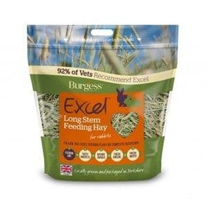 Burgess - Excel - Long Stem - Feeding Hay - 1kg
