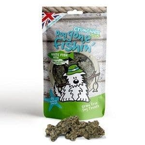 Dog Gone Fishin' -  White Fish with Green Lipped Mussel Crunchies - 75g