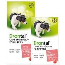 Drontal Puppy - Liquid - Worming Suspension - 100ml