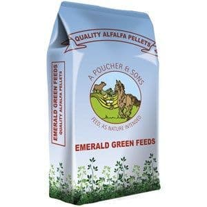 Emerald Green Feeds - Alfalfa Pellets - 20kg