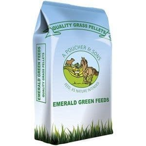 Emerald Green Feeds -  Grass Pellets / Grass Nuts - 20kg