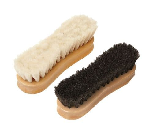 Equerry - Wooden Face Brush - Horse Hair