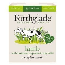 Forthglade - Complete Meal - Adult Dog - Lamb with Butternut Squash & Vegetables -  Grain Free - 395gm