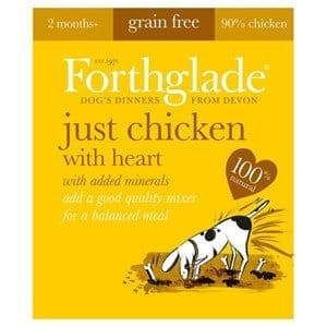Forthglade  - Just Chicken with Heart - Grain Free - Dog Food