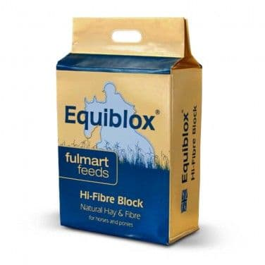 Fulmart Feeds- Equiblox - Hi Fibre Block - Hay - Fibre Blocks - 12kg