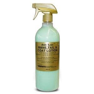 Gold Label  - Mane, Tail & Coat Spray - 500ml