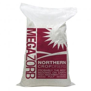 Megazorb - Paper Bedding - 85 litre - Northern Crop Driers