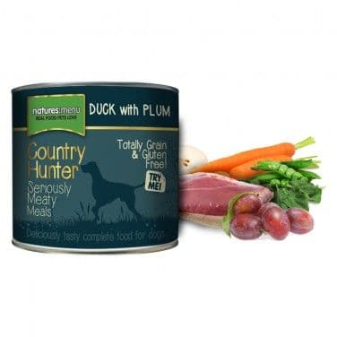 Natures Menu - Country Hunter - Adult Dog - Duck with Plum