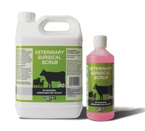Nettex - Veterinary - Surgical Scrub -  500ml