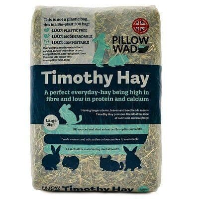 Pillow Wad - Bio -  Timothy Hay -  Large 2kg