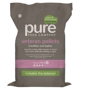 Pure Feed Company - Pure Veteran Pellets - 15kg