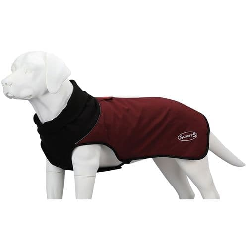 Scruffs - Thermal Quilted Dog coat - Burgendy