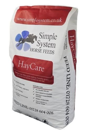 Simple System - Hay Care - Timothy -  Grass Nuts - 20kg