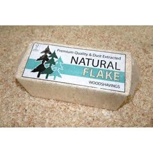 Small Flake - Wood Shavings - Bedding - 20kg
