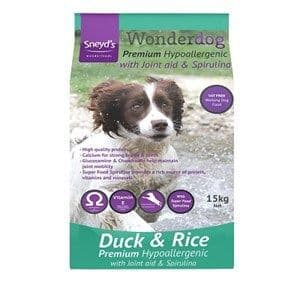 Sneyds - Wonderdog - Premium  - Duck & rice - Dog Food - 15kg