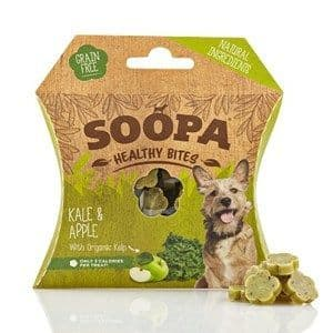 Soopa - Healthy Bites - Kale & Apple - Dog Treats - 50g