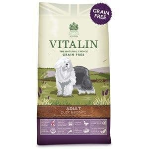 Vitalin -  Adult - Grain Free - Dog Food -  Large Breed - Duck  & Potato