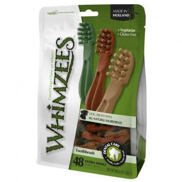 Whimzees - Extra Small - Toothbrushes-  70mm pack of 48