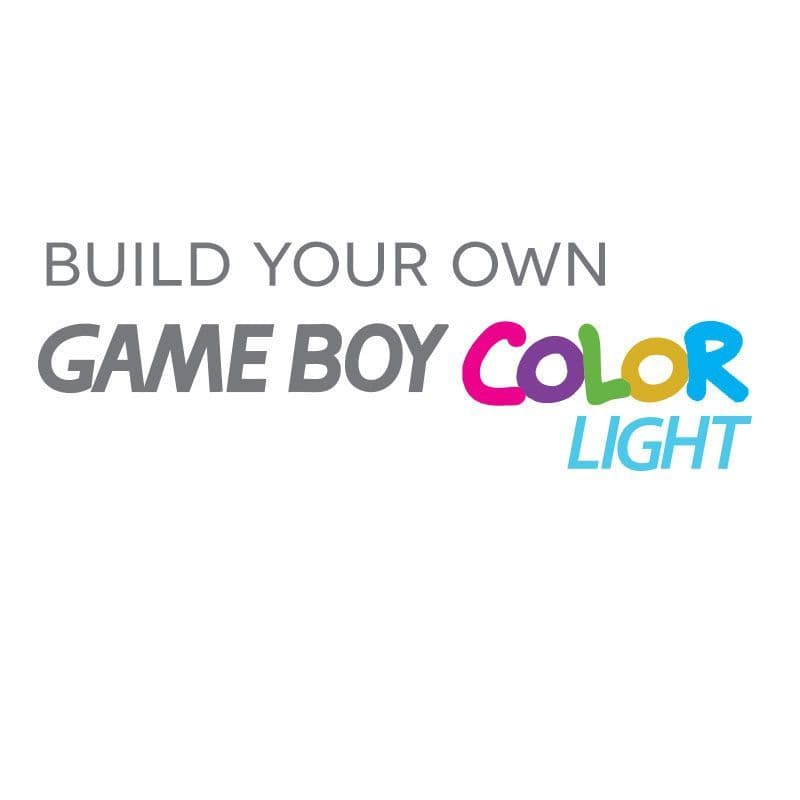 Game Boy Color Light - Build Your Own