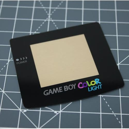 Game Boy Color Light - Standard logo - Glass