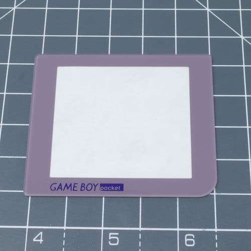 Game Boy Pocket (without LED) - DMG style - Glass