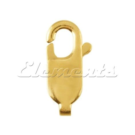 9ct Yellow Gold Lobster Clasp