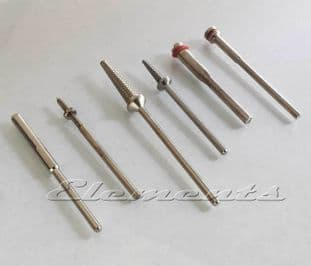Screw Top, Threaded Taper, Split Mandrel